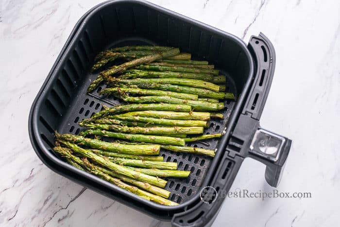 Thanksgiving Asparagus Recipe in Air Fryer @BestRecipeBox