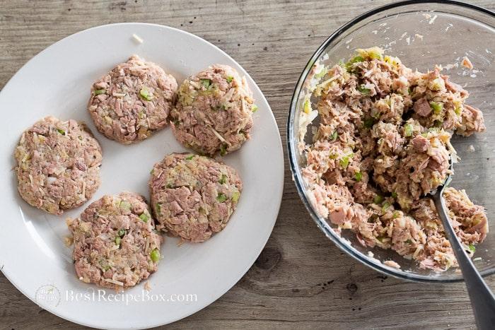 How to Make Tuna Patties Recipe step by step