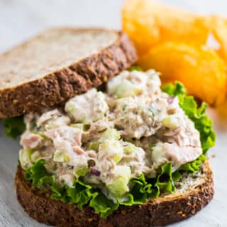 Mom's Amazing Tuna Salad and Tuna Fish Sandwiches