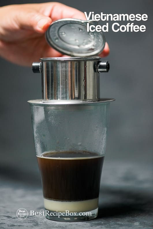 Vietnamese Iced Coffee Recipe Cafe Sua Da Recipe | @bestrecipebox