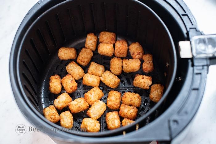 air fried tater tots recipe or air fryer potato puffs | BestRecipebox.com