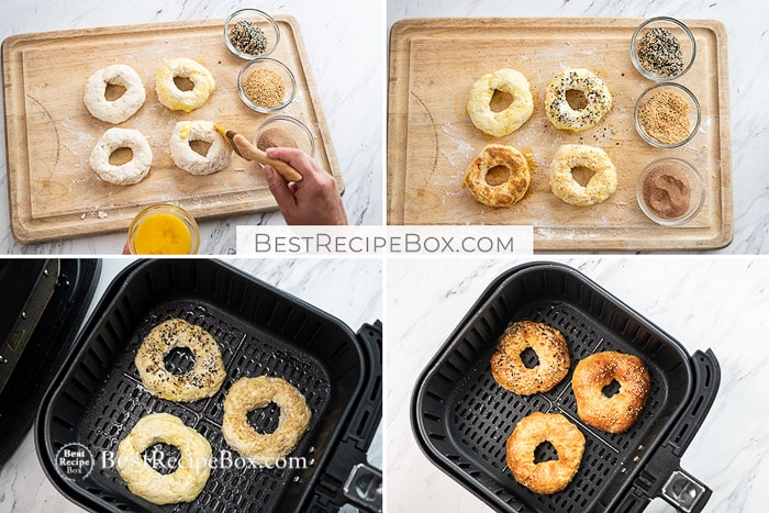 How to Make Air Fryer Bagels Recipe @bestrecipebox