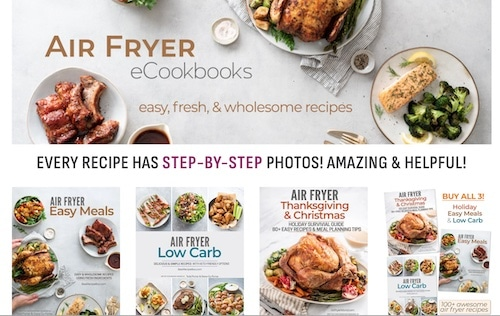 air fryer recipes best selling cookbooks | bestrecipebox.com