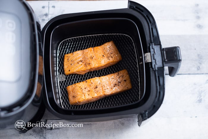 air fryer salmon recipe bestrecipebox.com