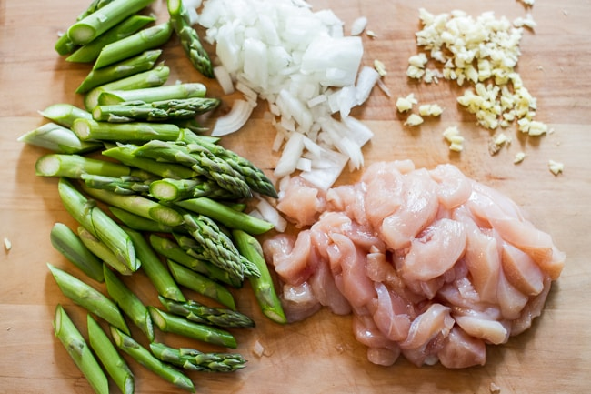 Asparagus chicken stir fry recipe chicken stir fry tender sweet and healthy asparagus chicken stir fry recipe from chickenrecipebox ccuart Gallery