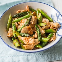 Asparagus and Chicken Stir Fry thumbnail