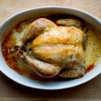 Easy Oven Roast (Baked) Chicken {Video Recipe}