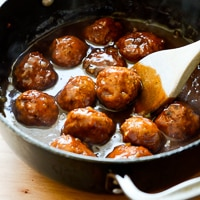 {Video} Smoky BBQ Chicken Meatballs
