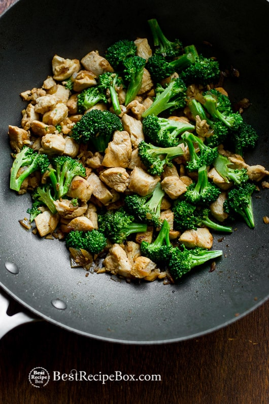 Easy recipe for chicken and broccoli