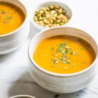 Easy 2-Ingredient Butternut Squash Soup