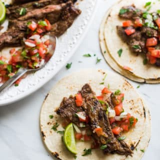 Carne Asada - Mexican Beef for Tacos, Burritos and more | @bestrecipebox