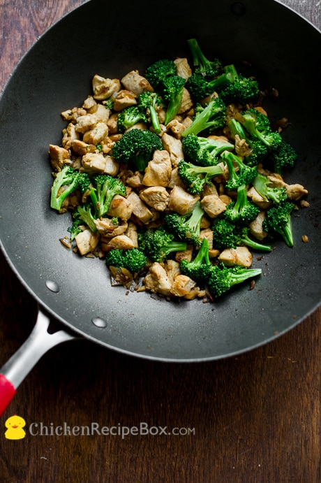Healthy Chicken and Broccoli Stir Fry Recipe from ChickenRecipeBox.com