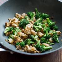 Low Fat Chicken Breast & Broccoli Stir Fry Recipe