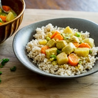 Easy Chicken Vegetable Curry Recipe