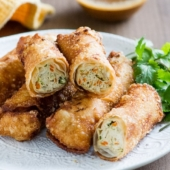 Easy Chicken Vegetable Egg Rolls Recipe that everyone will love |@bestrecipebox