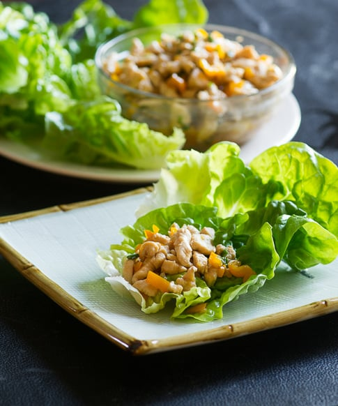 Easy Chicken Lettuce Cups Recipe with Ground Chicken