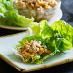 Easy Chicken Lettuce Cups