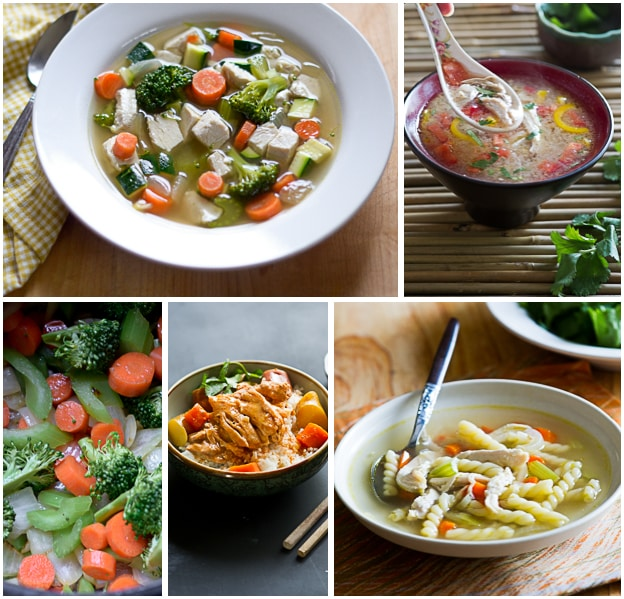 Easy and Delicious Homemade Chicken Soup Recipes and Chicken Stew Recipes