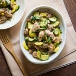 Sesame Chicken & Zucchini Stir-Fry