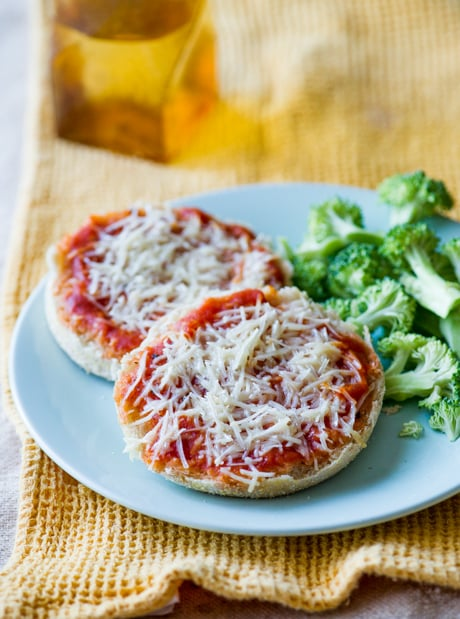 Easy English Muffin Pizza Recipe that Kids Love! from BestRecipeBox.com