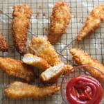 fried chicken strips recipe