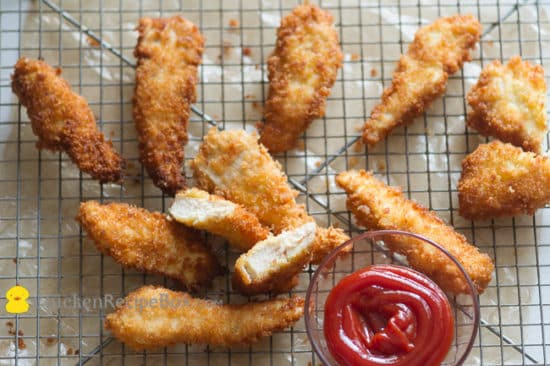fried chicken strips recipe