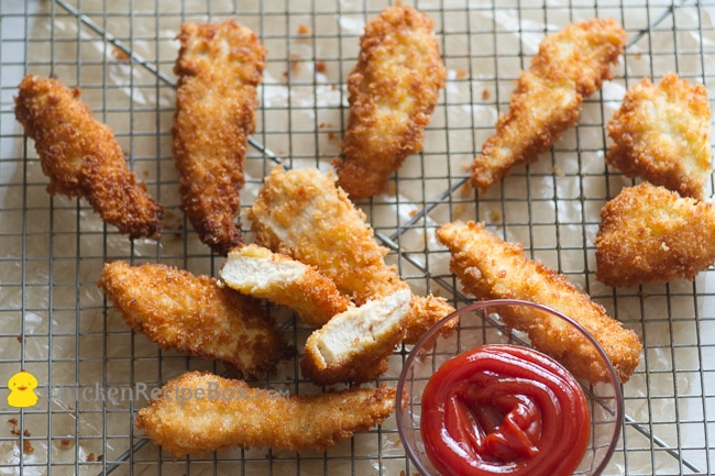 Deep fried chicken strips recipes