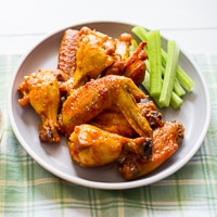 Spicy Garlic Chicken Wings