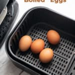 How to make Hard boiled eggs recipe in air fryer- Easy and perfect! @bestrecipebox