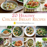 healthy chicken breast recipes-thumb 200