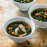 Healthy Turkey Soup Recipe with Kale – Easy 30 Minute Recipe