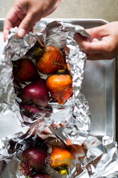 Easy Roast Beets Recipe on @BestRecipeBox