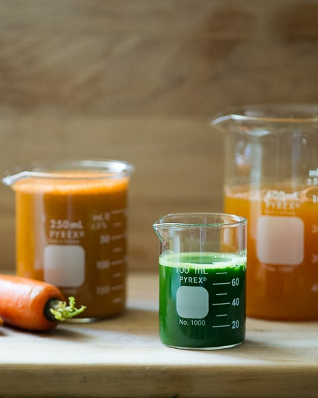 Healthy Kale and Carrot Juice Recipe step by step