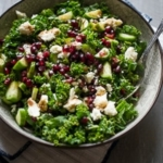 Healthy Kale & Pomegranate Salad