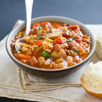 Easy Chicken Chili with Roast Chicken