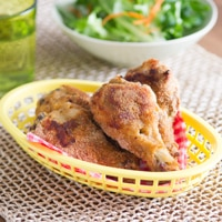 "Easy Oven Baked ""Fried"" Chicken"