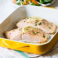 oven baked salmon recipe-thumb 200