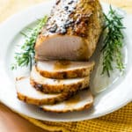 Simple Oven Roast Pork Loin Roast