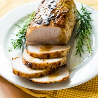 Simple Oven Roast Pork Tenderloin Roast