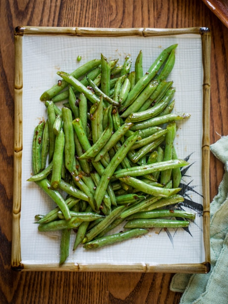 Sesame Green Beans Recipe- Easy Vegetable Recipe in 30 minutes from BestRecipeBox.com