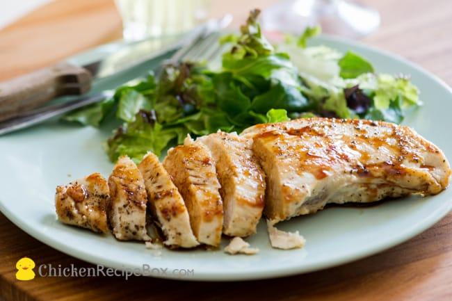 Teriyaki Chicken Recipe on a plate