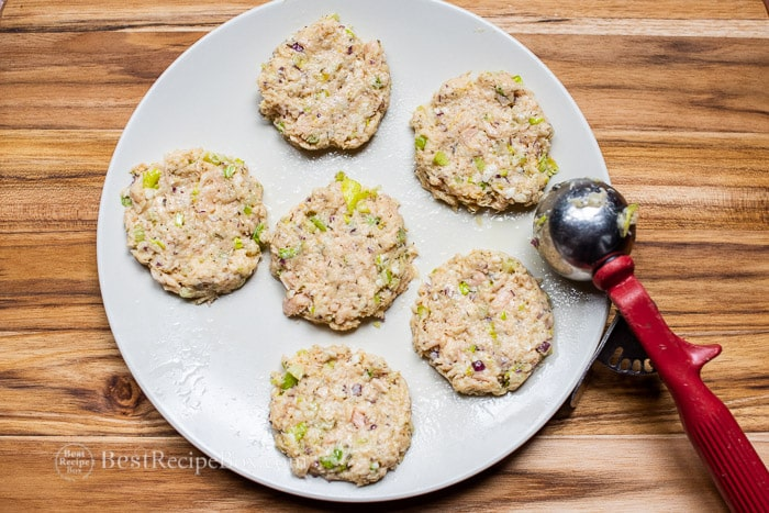 Tuna cake recipe @bestrecipebox