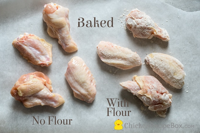 How to cook crispy chicken wings or buffalo wings: Fried, Baked or Pre-poached for healthy wings. via BestRecipeBox.com