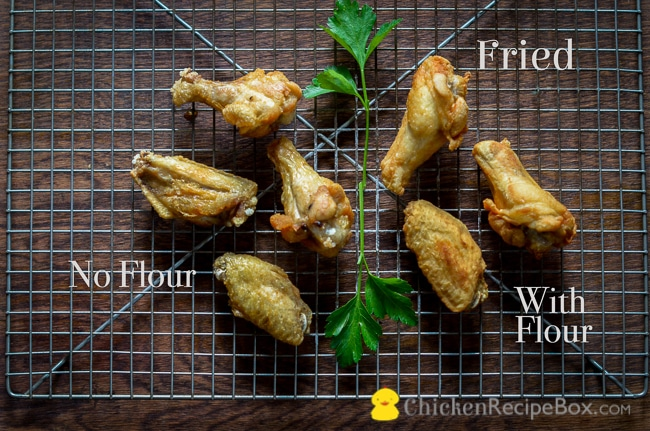 how to prepare chicken wings for baking