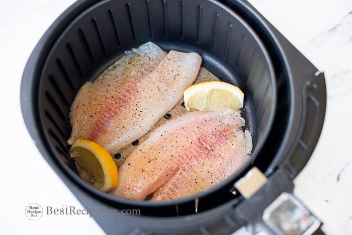 Air Fried White Fish Recipe in Air Fryer @bestrecipebox