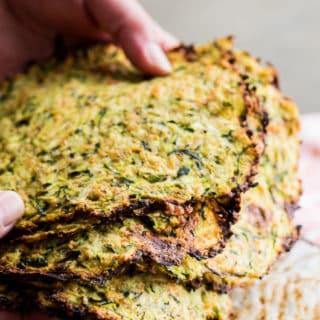 Low Carb Zucchini Tortillas Recipe